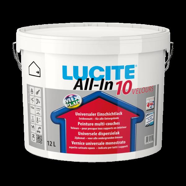 Lucite All-in mat 10 velours binnenmuurverf