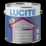 Lucite All-Top Aqua Satin